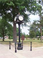 Clock in City Park